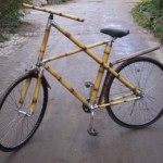 Bamboe fiets